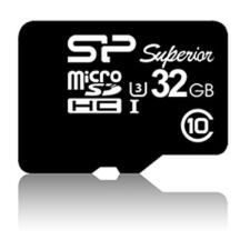 Silicon Power microSDHC Superior UHS-I(U3) 32GB memóriakártya
