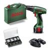 Bosch BOSCH - Bosch PSR 960 akkus fúró/csavarozó + 173 részes rögzítő szett