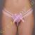Inez Odett tanga - rózsaszín - S-L méret