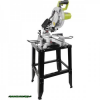 asztali körfűrész, lézeres, gérvágó,1800W,5500 ford/perc,255×16×3mm/T24,dönthető és forgatható 0-45°,ALU talp,fém lábak