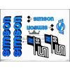 SIMSON MATRICA KLT. N50 KÉK / SIMSON - 50