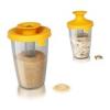 T Kitchen T's Kitchen PopSome cukor és rizs tároló-adagoló 0,6L sárga