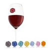 Vacu Vin pohárjelölő 8 db-os Classic szőlő