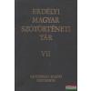 Szabó T. Attila - Erdélyi magyar szótörténeti tár VII. kötet