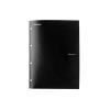 REXEL Irattartó mappa, lefűzhető, A4, PP, 4 részes, REXEL Advance, fekete (IDGL2103756)