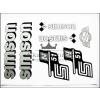 SIMSON MATRICA KLT. N51 EZÜST / SIMSON - 51