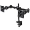 MANHATTAN 420808 LCD Monitor Dupla karos fali/asztali állvány 2db monitor részére (fekete)