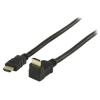 Valueline Nagysebességű 1.4 HDMI kábel 90° csatlakozó - 2m
