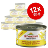 Almo Nature Classic gazdaságos csomag 12 x 95 g - Csirkefilé
