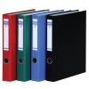 DONAU Gyűrűs könyv, 4 gyűrű, D alakú, 45 mm, A4, PP/karton, , fekete