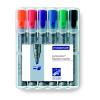 STAEDTLER Flipchart marker készlet, 2-5 mm, vágott,