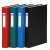 DONAU Gyűrűs könyv, 2 gyűrű, 40 mm, A4, PP/karton, , fekete