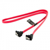 4world HDD Cable   SATA 3   SATA   60cm   right   latching   red