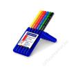 STAEDTLER Színes ceruza készlet, háromszögletű, vastag, STAEDTLER Ergo Soft Jumbo, 6 különböző szín (TS158SB6)