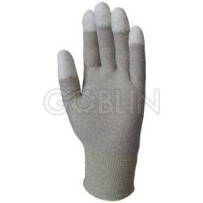 Euro Protection Antisztatikus ESD minõsített poliamid/karbon kesztyû, poliuretán ujjbeggyel