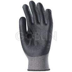 Euro Protection 5-ös vágásálló, kopásbiztos, rugalmas Taeki® kesztyû, fekete nitril tenyérrel