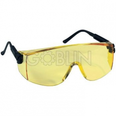 Lux Optical® Verilux védõszemüveg, sárga lencse éjszakai vezetéshez, állítható