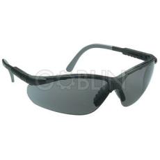 Lux Optical® Miralux védõszemüveg, sötét lencse, állítható és dönthetõ szár, szilikon orrnyereg