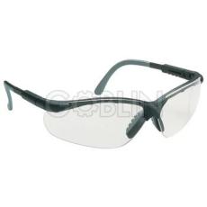 Lux Optical® Miralux védõszemüveg, szürke/fekete keret, víztiszta karcmentes látómezõ, állítható,...