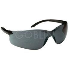 Lux Optical® Softilux védõszemüveg, füstszínû polikarbonát szár és lencse, karcmentes