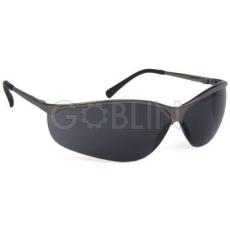 Lux Optical® Titalux védõszemüveg, polarizált, sötétszürke lencse erõs, visszatükrözõdõ fényre