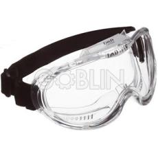 Lux Optical® Kemilux védõszemüveg, páramentes lencse három indirekt ventillációs szellõzõvel