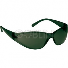 Lux Optical® Airlux védõszemüveg, páramentes, zöld keret és zöld lencse széles látómezõvel (3-3...