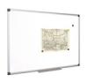 Fehértábla, mágneses, 120x240 cm, alumínium keret felírótábla