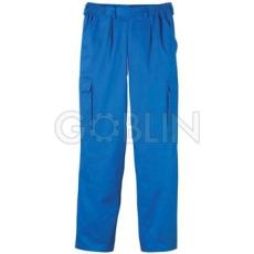 Euro Protection Factory deréknadrág, gumibetétes, cipzáros nadrág, övbújtatókkal, biztonsági varrás az...