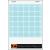 Flipchart papír, négyzethálós, 65x91 cm, 5x20 lap, VICTORIA (VPTPK)