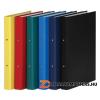Gyűrűs könyv, 2 gyűrű, 35 mm, A4, PP/karton, DONAU, citromsárga (D3732S)
