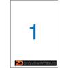 Etikett, univerzális, 210x297 mm, VICTORIA, 100 etikett/csomag (LCV11377)