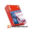 Etikett, mátrixnyomtatókhoz, 1 pályás, 127x48,7 mm, APLI, 3000 etikett/csomag (LCA011)