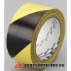 Ipari jelzőszalag, 50mm x 33m, 3M, sárga-fekete (U3M766I)