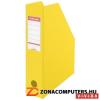 Iratpapucs, PP/karton, 80 mm, összehajtható, ESSELTE, Vivida sárga (E56001)