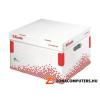 Archiváló konténer, L méret, újrahasznosított karton, ESSELTE