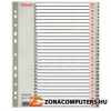 Regiszter, műanyag, A4 Maxi, 1-31, ESSELTE, szürke (E100127)