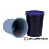 Papírkosár, 14 liter, DONAU, kék (D305K)