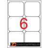 Etikett, univerzális, 99,1x93,1 mm, kerekített sarkú, APLI, 600 etikett/csomag (LCA2421)