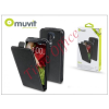 Muvit LG G2 D802 flip tok képernyővédő fóliával - Muvit Slim - black