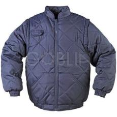 Coverguard CHOUKA SLEEVE kék, levehetõ ujjakkal mellénnyé alakítható kabát
