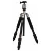 Rollei Fotopro C4-i állvány 53P gömbfejjel + bélelt táska (titánszürke)