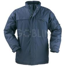 Coverguard KABAN kék kabát, kényelmes belsõ, polárgallér, rejtett kapucni