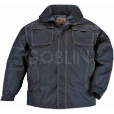 Coverguard BOUND fekete kabát, víz- és szélálló 600D Oxford, taft belsõ, hegesztett biztonsági varrás