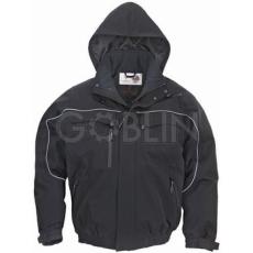 Coverguard TAO dzseki fekete, lélegzõ, szél- és vízálló softshell anyag, körbefutó...