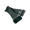 NZXT ATX táp kábel 24 pól., fekete 25 cm, NZXT cb-24p