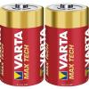 Varta Góliátelem alkáli mangán Varta Max Tech LR20 1.5 V, 2 db
