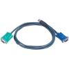 ATEN USB-KVM kábel 1,8 m, ATEN 2L-5202U
