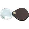 Eschenbach Összecsukható nagyító bőr tokban, kerek, 60 mm,3,5-szeres, nutria barna Eschenbach 1740460 3,5 x 60 mm