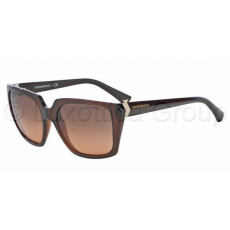 Emporio Armani EA4026 519818 TRANSPARENT BROWN ORANGE GRADIENT napszemüveg